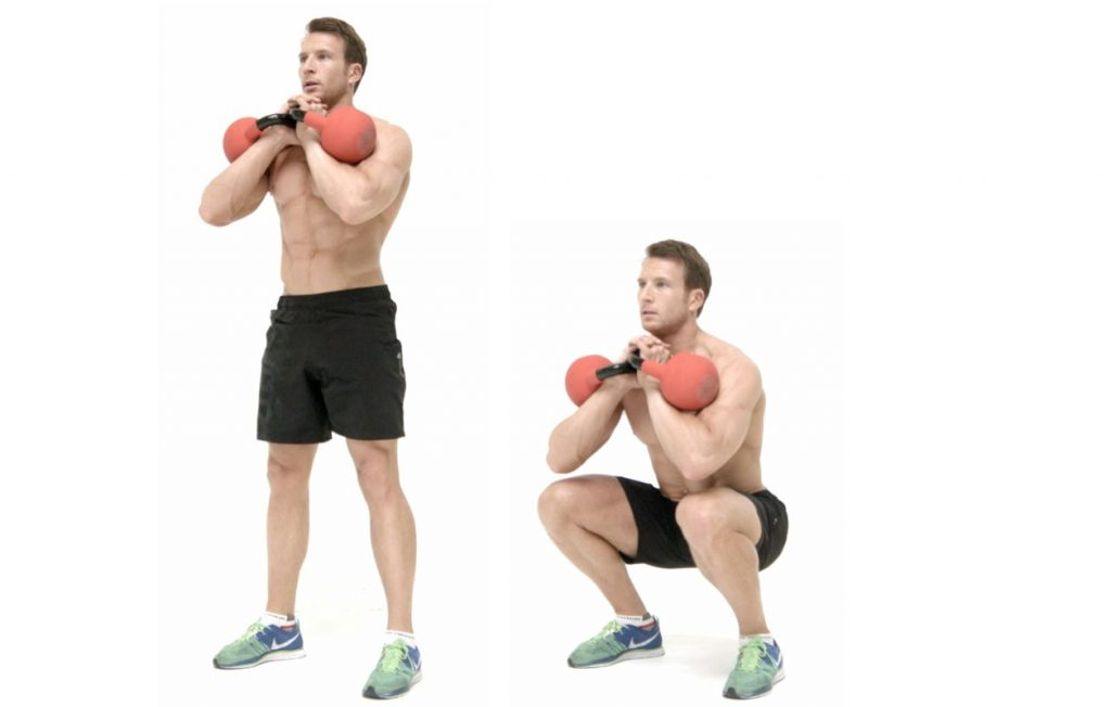 Dumbbell Goblet Squats