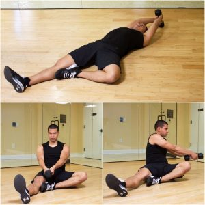 Dumbbell Oblique Twist