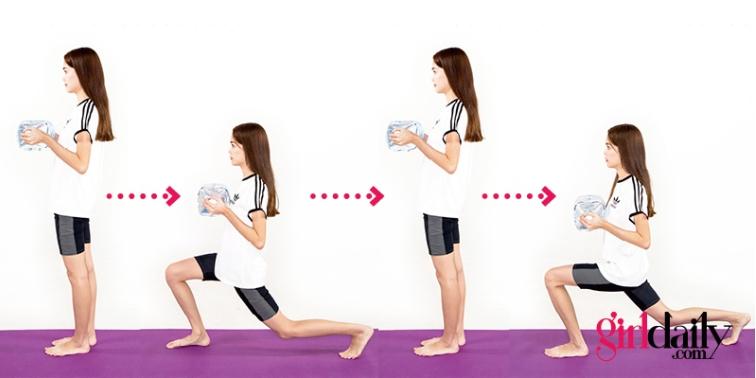 ออกกำลังกายง่ายๆโดยใช้ขวดน้ำ