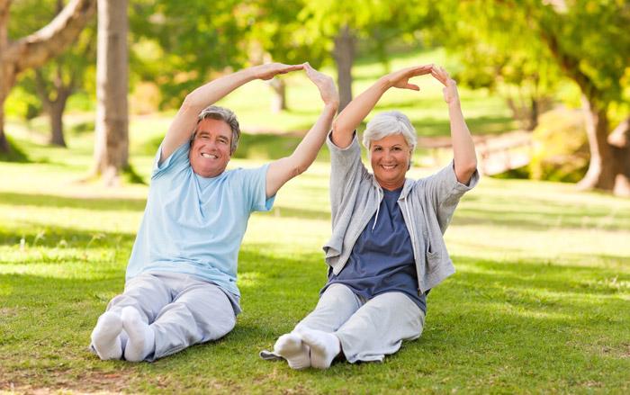 """""""อายุ"""" ไม่เป็นอุปสรรคในการออกกำลังกาย"""