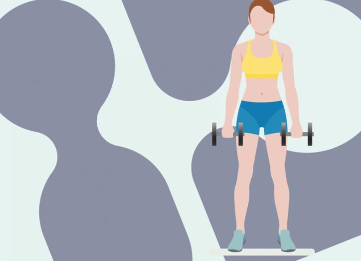 5 ท่าออกกำลังกายโดยใช้ดัมเบล