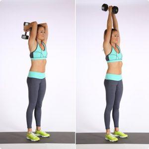 การออกกำลังกายโดยใช้ดัมเบลล์