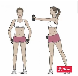 วิธีการออกกำลังกายโดยใช้ดัมเบล